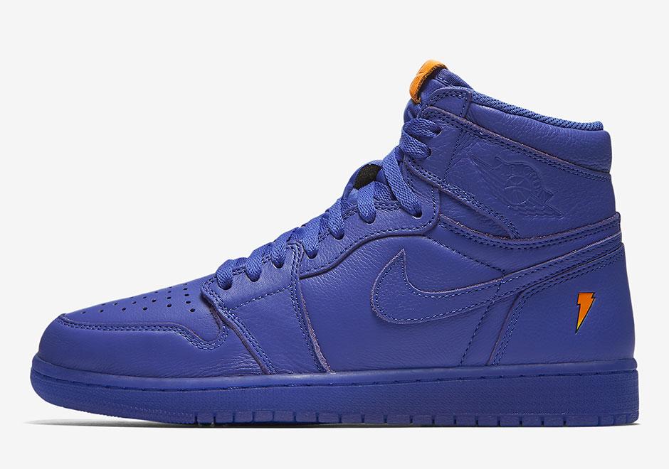 8d2742132de459 Air Jordan 1 Gatorade Rush Violet - Le Site de la Sneaker