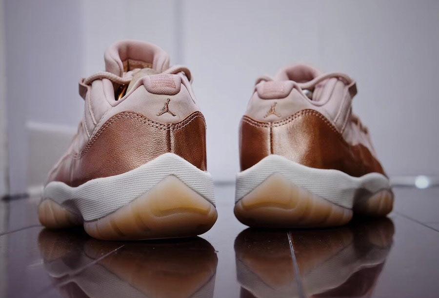 Preview: Air Jordan 11 Low Rose Gold - Le Site de la Sneaker