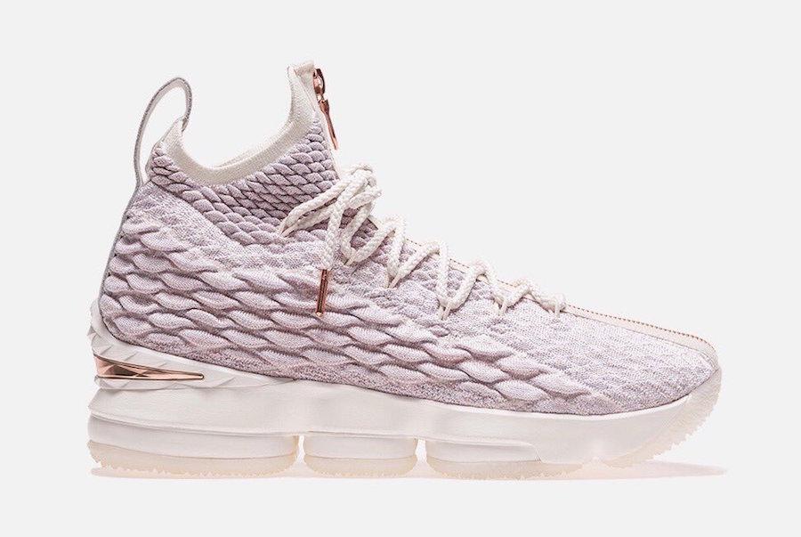 8b80a8c0ff2d4 Preview  Kith x Nike LeBron 15 Rose Gold - Le Site de la Sneaker