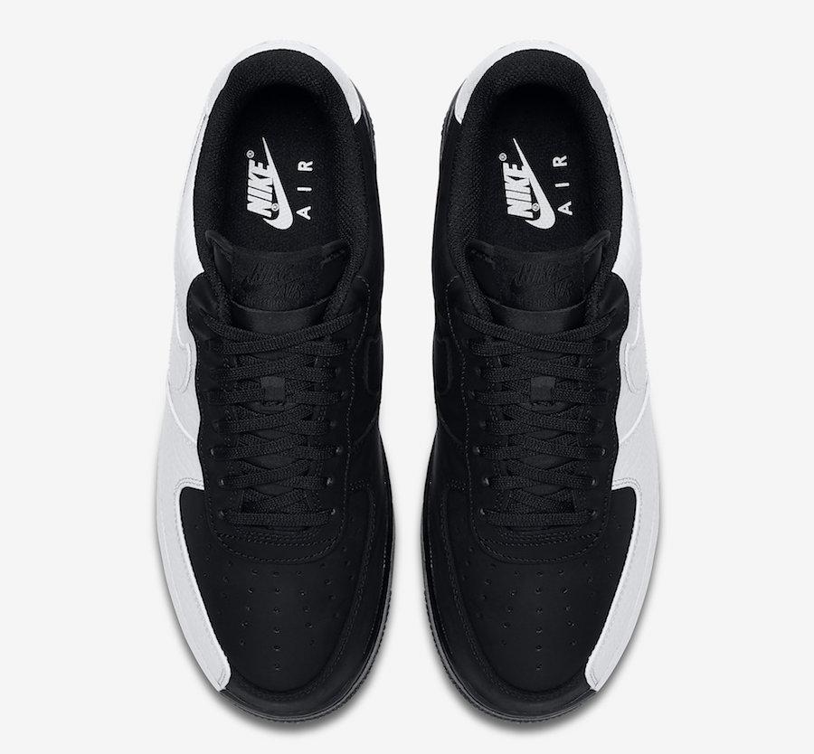 Nike Air Force 1 Split Black White - Le Site de la Sneaker