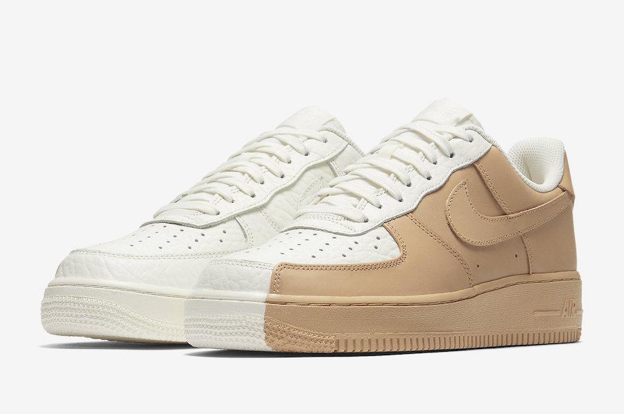 Nike Air Force 1 Split Black White Le Site de la Sneaker