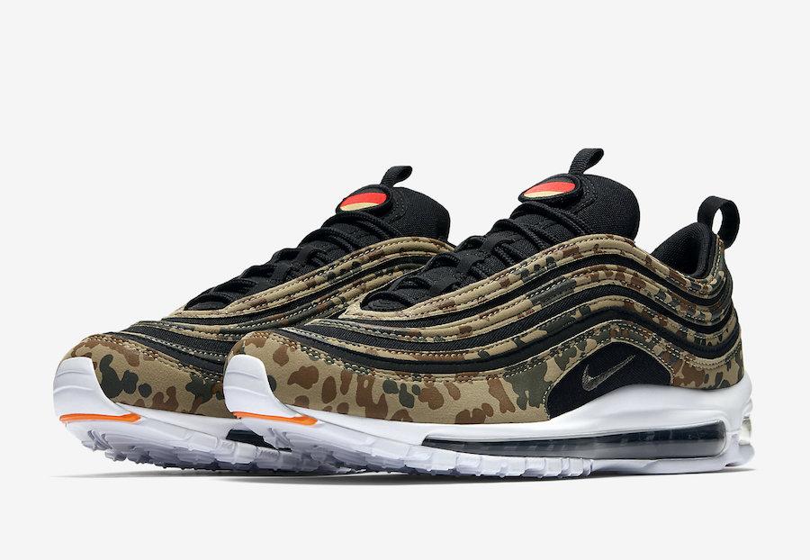 Nike Le de Germany Country la Sneaker Air Max Site 97 Camo rAarqx