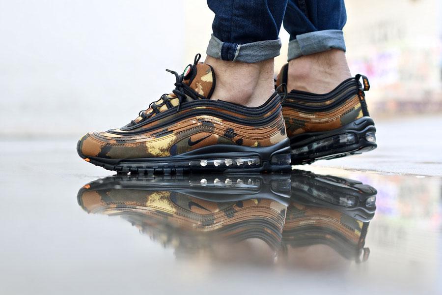 more photos 47c28 a45d8 Nike Air Max 97 Country Camo Italy - Le Site de la Sneaker