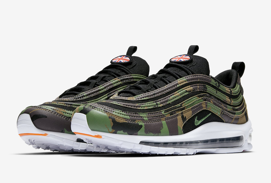 Sneakers Nike Air Max 97 Country Camo Pack 'USA' (2017