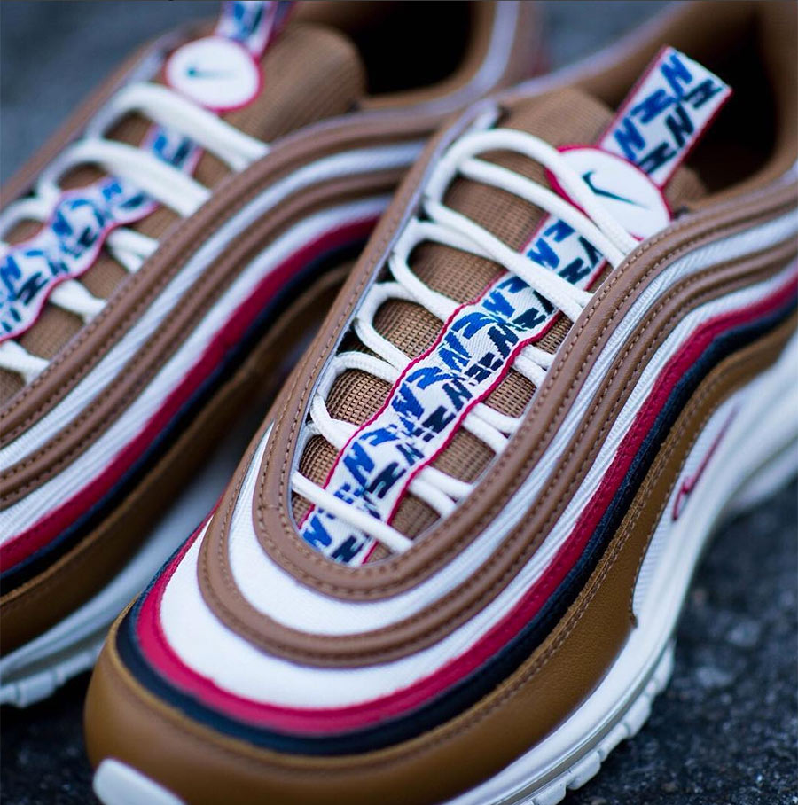size 40 da8ae 929d2 Nike Air Max 97 Pull Tab Brown