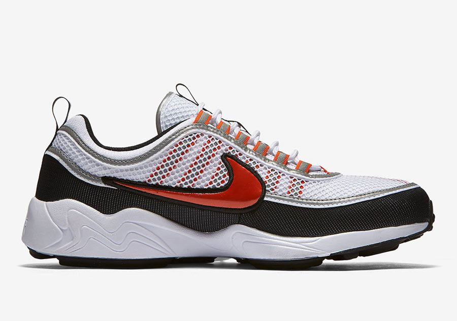 preview nike air zoom spiridon team orange le site de la sneaker. Black Bedroom Furniture Sets. Home Design Ideas