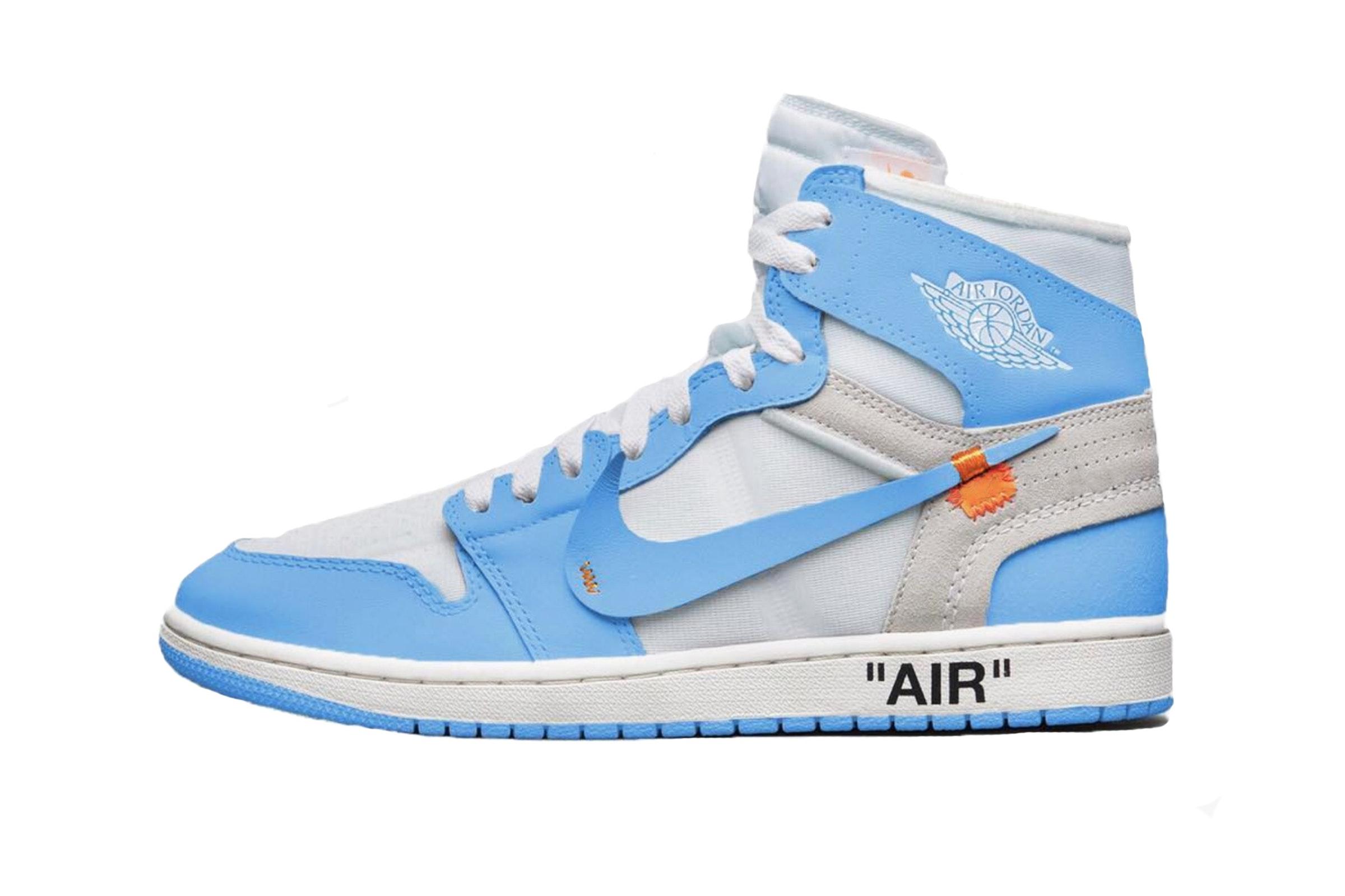 utterly stylish buy cheap arrives Une Off-White x Air Jordan 1 White University Blue pour le ...