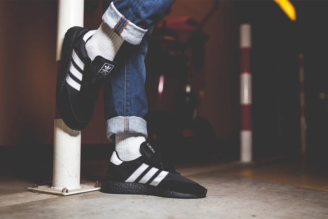 adidas Iniki Black & White