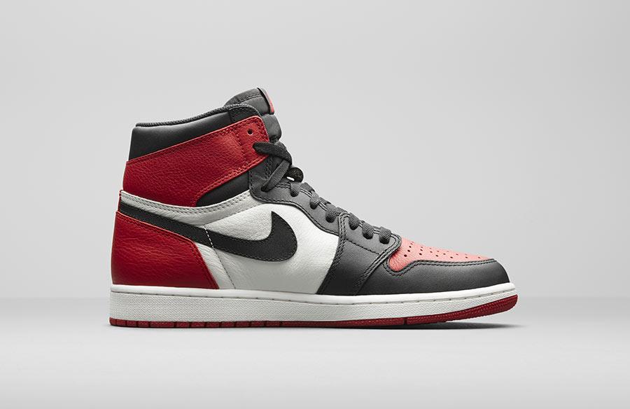 ae69c8dd3598 Air Jordan 1 Retro High OG Bred toe Le Site de la Sneaker