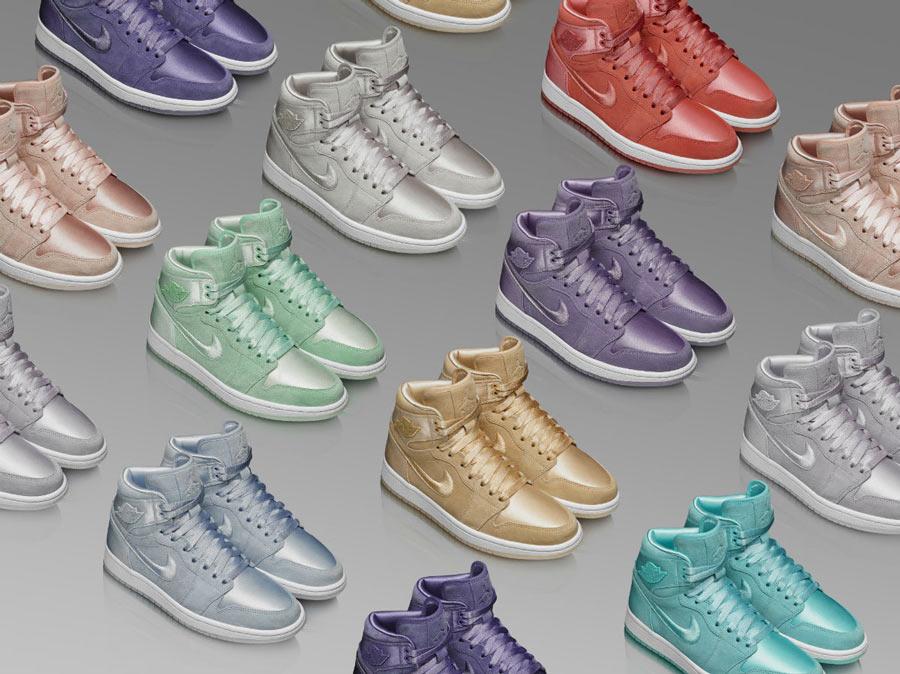 aae5a6dc0f61 Air Jordan 1 WMNS Season of Her Pastel Pack - Le Site de la Sneaker