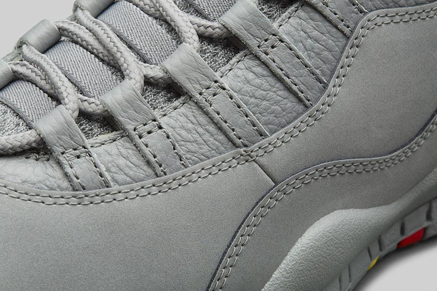 d833d25a87ab Air Jordan 10 Cool Grey - Le Site de la Sneaker