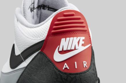39ee096c8e16cc Une Air Jordan 3 Retro JTH NRG Fire Red pour le printemps - Le Site ...