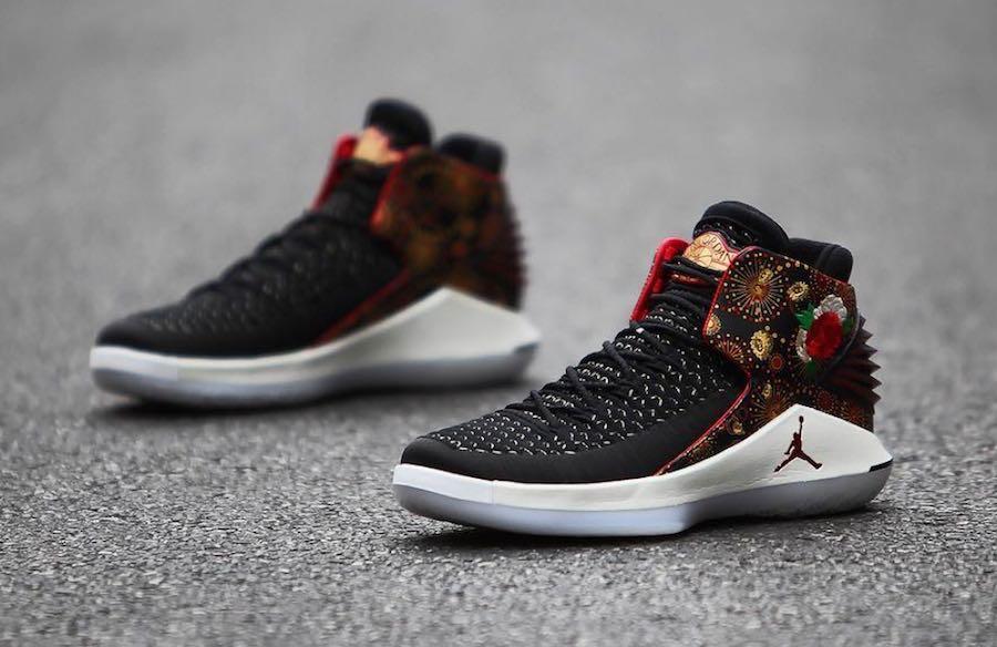 b4135f58b5 Air Jordan 32 Chinese New Year - Le Site de la Sneaker
