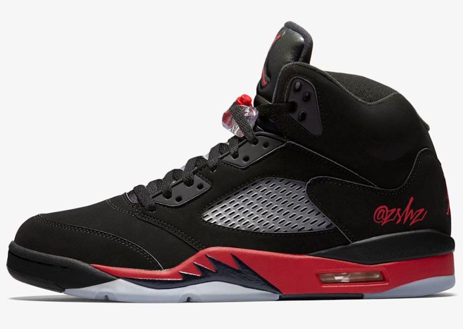 Air Jordan 5 Bred Photos
