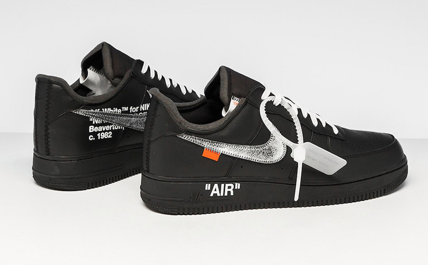 Preview: Moma x Virgil Abloh x Nike Air Force 1 Black - Le ...