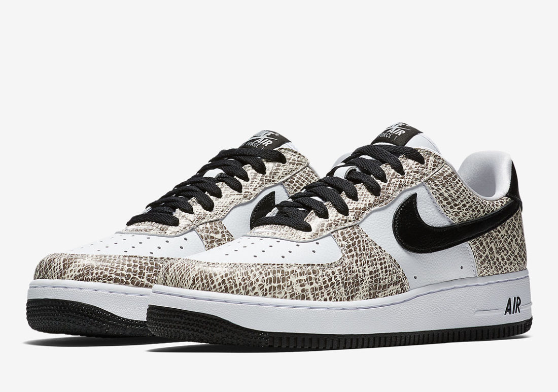 Nike Air Force 1 Low Cocoa Snake Le Site de la Sneaker