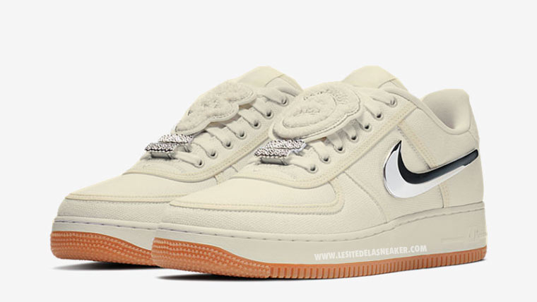 buy popular cf580 b4ae3 ... netherlands les travis scott x nike air force 1 low sail sortiront au  printemps été 2018