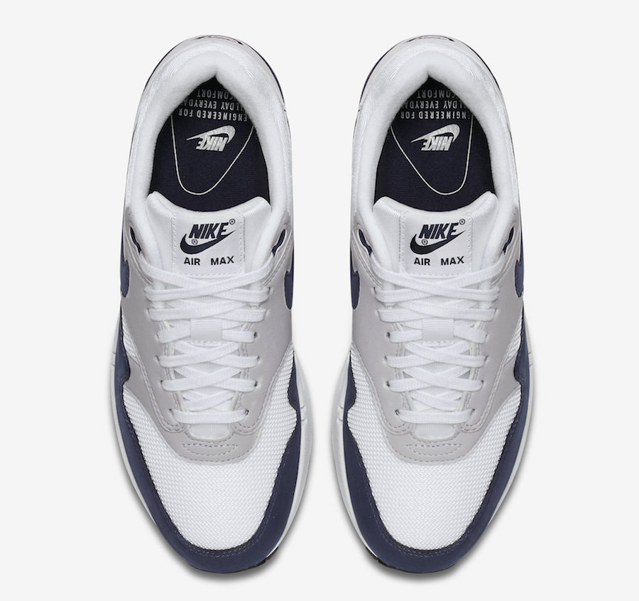 Nike WMNS Air Max 1 White Obsidian Le Site de la Sneaker