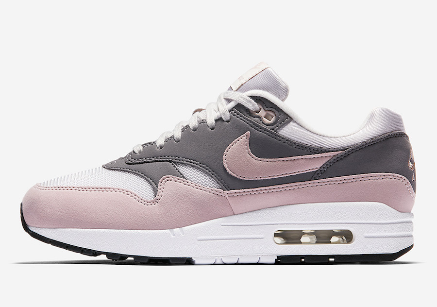 nike air max 1 noir rose