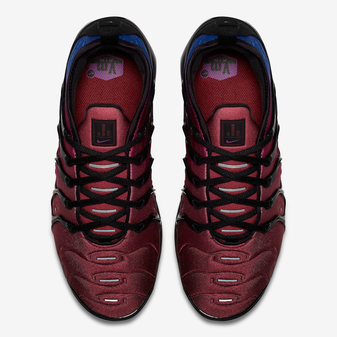 658eef34b6 Nike Air VaporMax Plus Black Team Red Violet - Le Site de la Sneaker