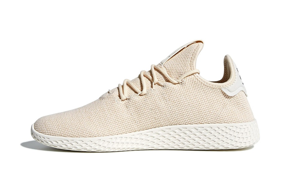 Pharrell Williams x adidas Tennis HU Light Tan