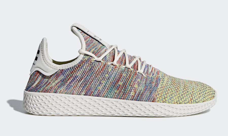 Pharrell x adidas Tennis HU Multi color