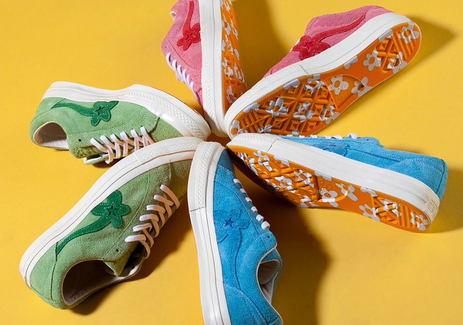 e324c8b40fe3 GOLF le FLEUR x Converse One Star 2018 Photos. tyler-the-creator-converse- one-star-collaboration-part-