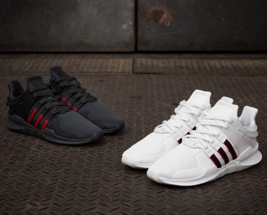 best website b714c c0ca2 adidas EQT Support ADV Black  White