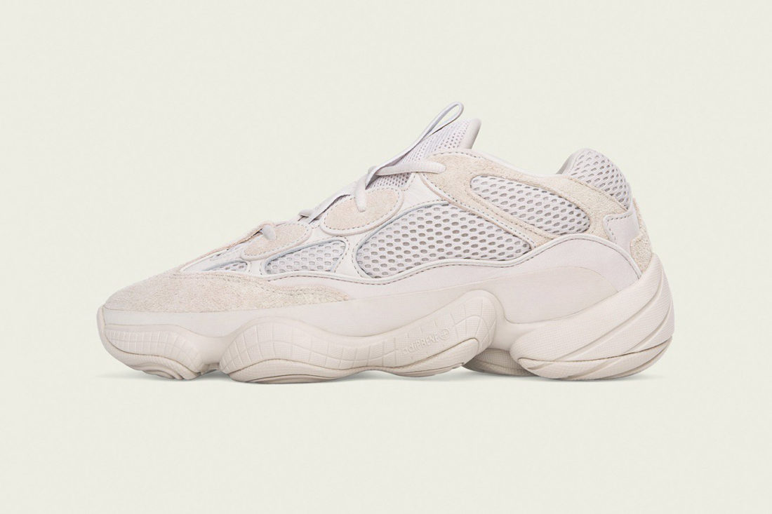 the best attitude a4662 36455 adidas YEEZY Desert Rat 500 Blush
