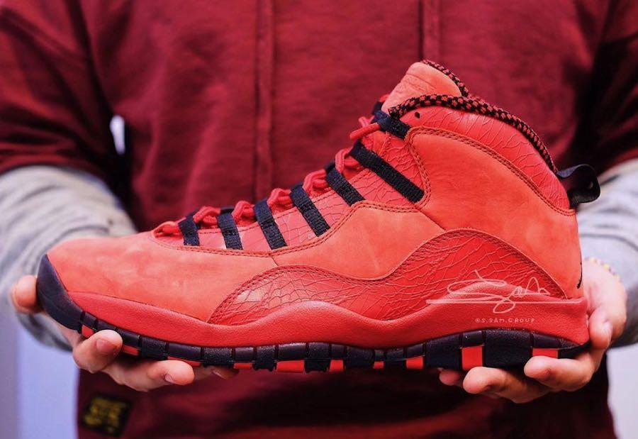 33dbf619f6f6 Air Jordan 10 Steve Wiebe - Le Site de la Sneaker