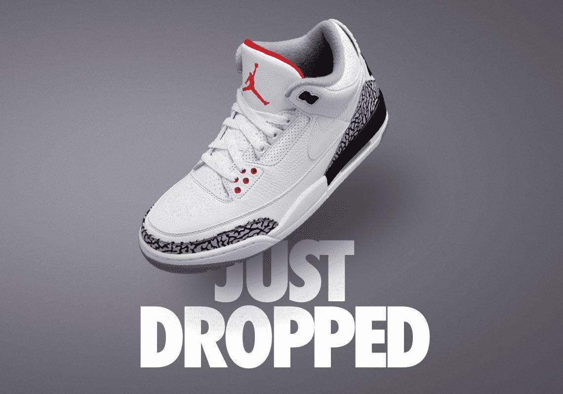 best sneakers 16d50 b3a10 Air Jordan 3 JTH Justin Timberlake - Le Site de la Sneaker