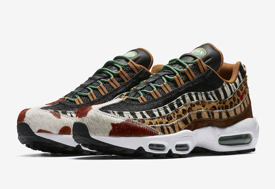 Atmos x Nike Air Max 95 Animal Pack 2018