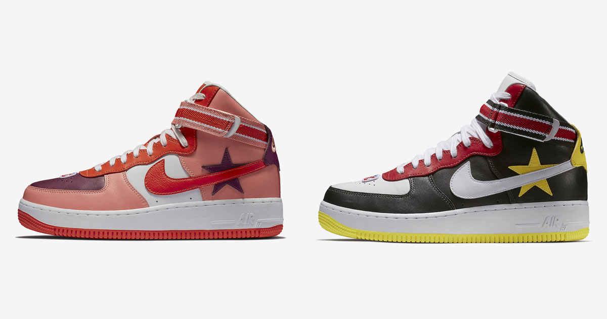 the best attitude 57517 9c6e8 Nike Air Force 1 High x RT Victorious Minotaurs Pack