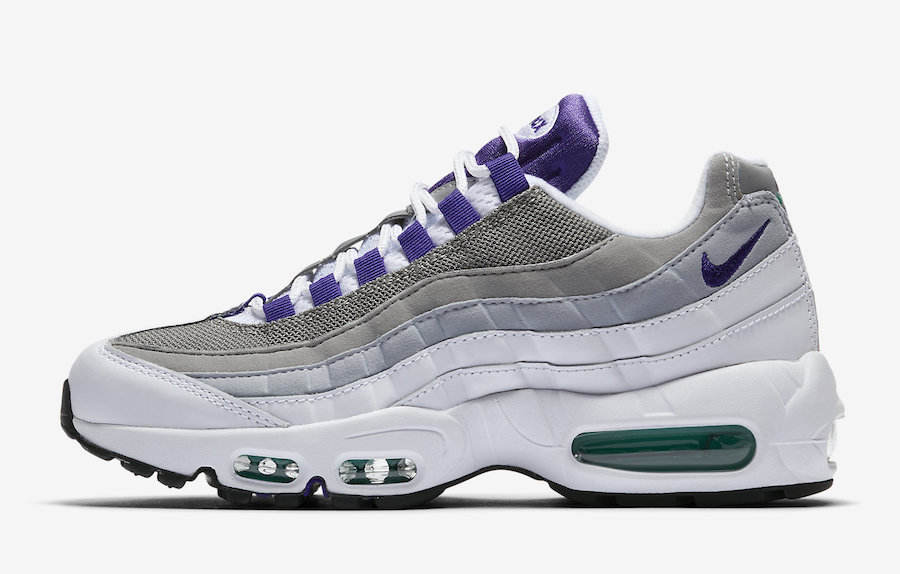 on sale 1d8d5 6f69f Nike Air Max 95 Grape 2018
