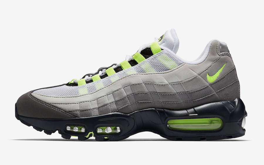 air max 95 jaune fluo