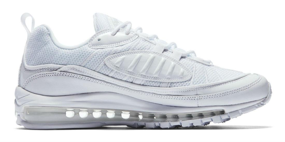 Avis] La Nike Air Max 98 blanche White Pure Platinum : faut