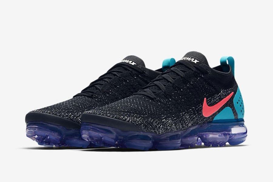 beauty incredible prices save up to 80% Nike Air VaporMax Flyknit 2.0 Black Hot Punch