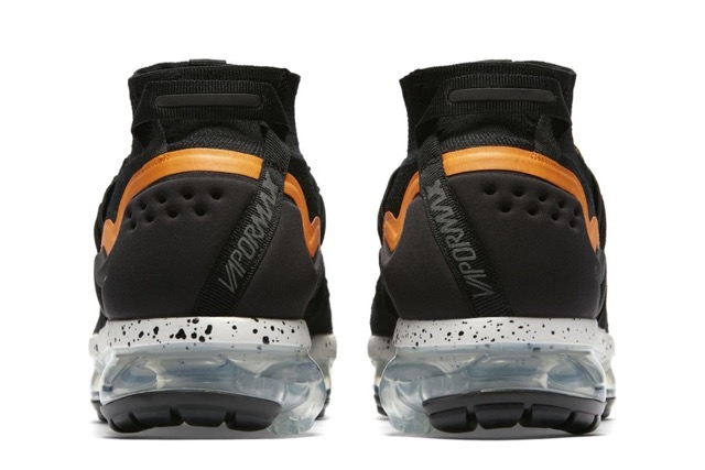 0e75e3a623a Nike Air VaporMax Flyknit Utility Black Orange Peel - Le Site de la ...