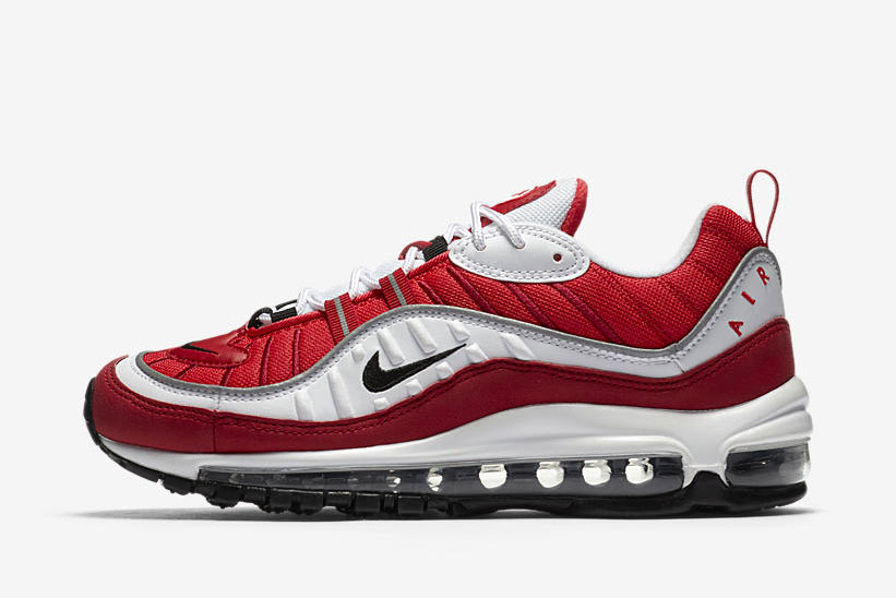 Nike WMNS Air Max 98 Gym Red