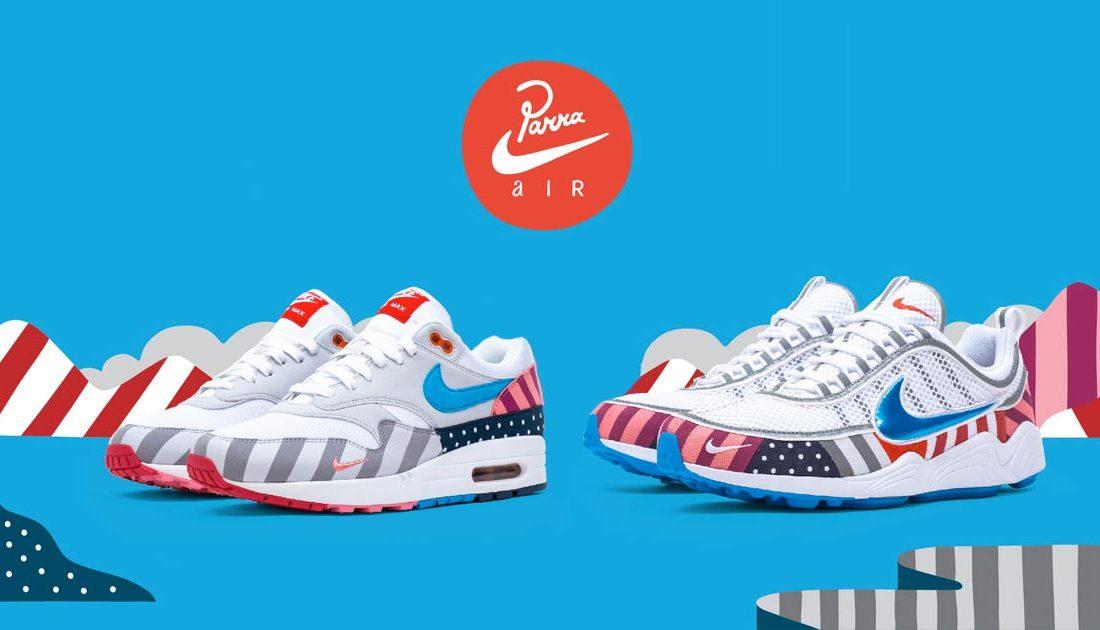 ca4bf610fe69 Une Parra x Nike Air Max 1 et Air Zoom Spiridon pour 2018 - Le Site ...