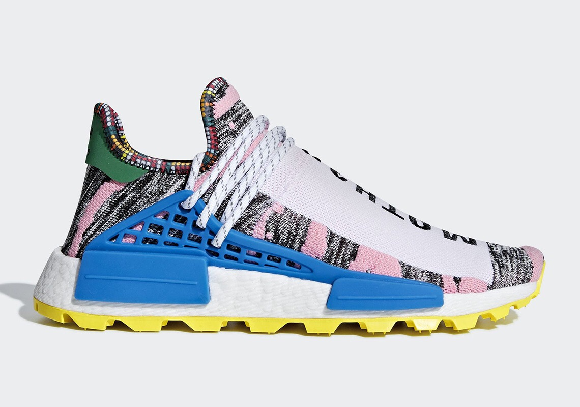 adidas NMD Hu Solar Pack Afro Pink