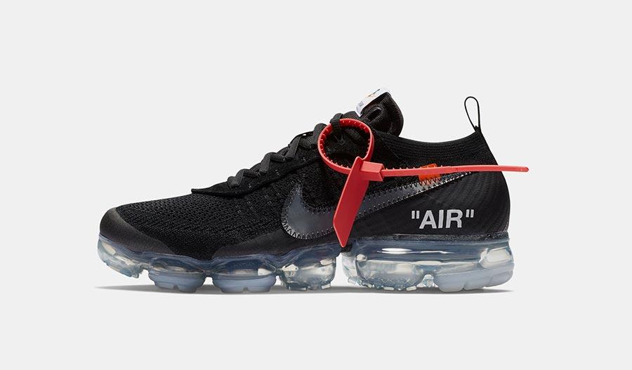 separation shoes 19424 89ac2 Off-White x Nike Air VaporMax Black