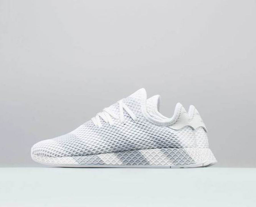 adidas Deerupt White Grey