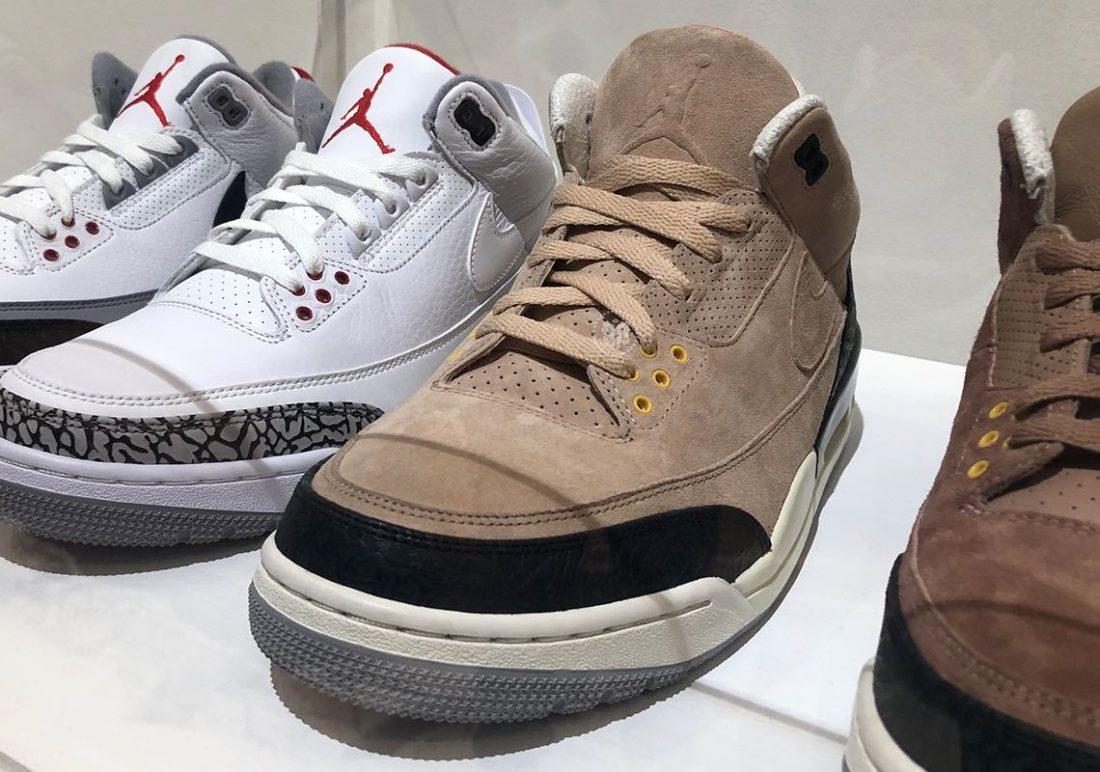 d48433893e50 Preview  Air Jordan 3 JTH Bio Beige - Le Site de la Sneaker