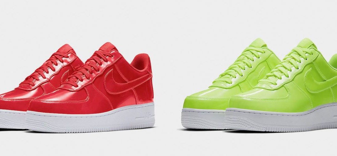 promo code c516a 7e0e3 Nike Air Force 1 Low Patent Leather Collection