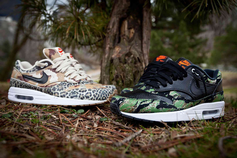 buy popular 3abaa 914c2 Nike Air Max 1 Animal camo pack 2013