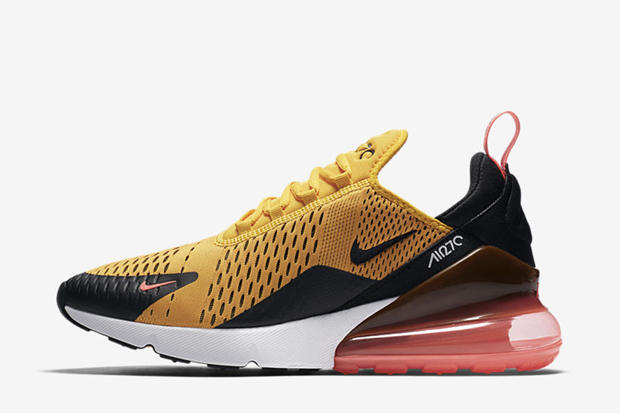 hot sales 7b4b9 eb535 Nike Air Max 270 Black University Gold - Le Site de la Sneaker