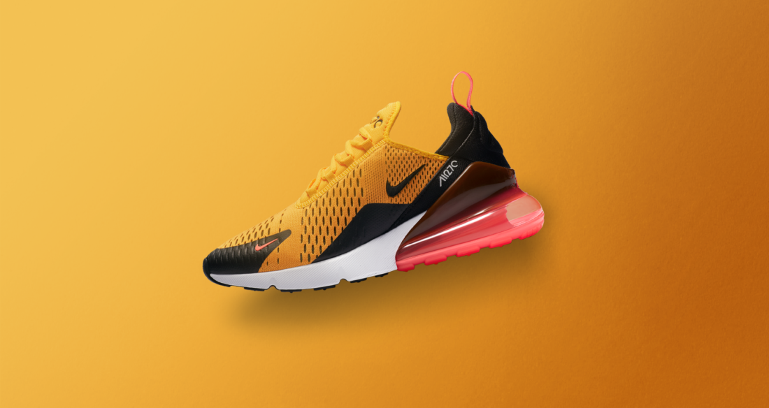 Nike Air Max 270 Black University Gold - Le Site de la Sneaker 821d34efd