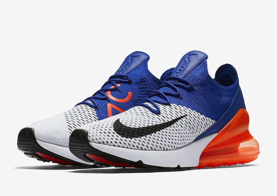 Nike Air Max 270 Flyknit Total Crimson
