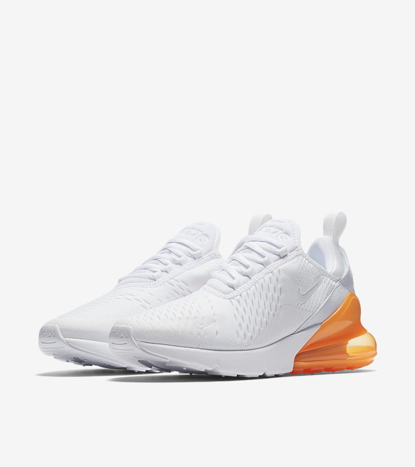 nike air max 270 femme orange